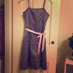 Pink polka dot dress 🎀